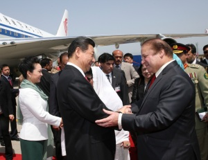 PAKISTAN-CHINA-XI JINPING-ARRIVAL